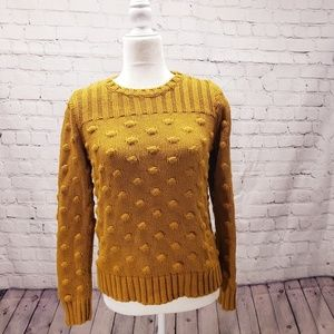 Vince Camuto mustard sweater. Size small.